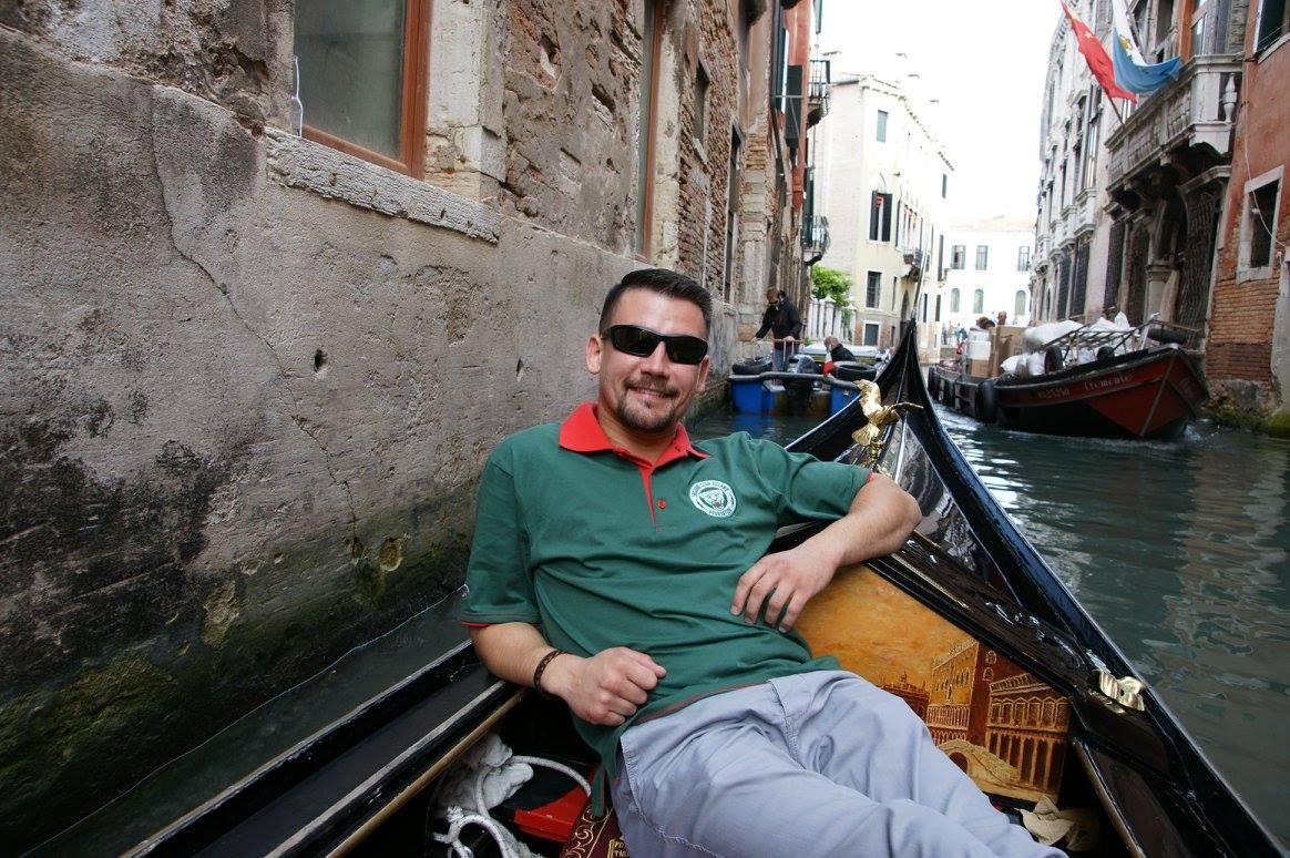2015-10-09 - Wyjazd - Wenecja - Fisch na gondoli