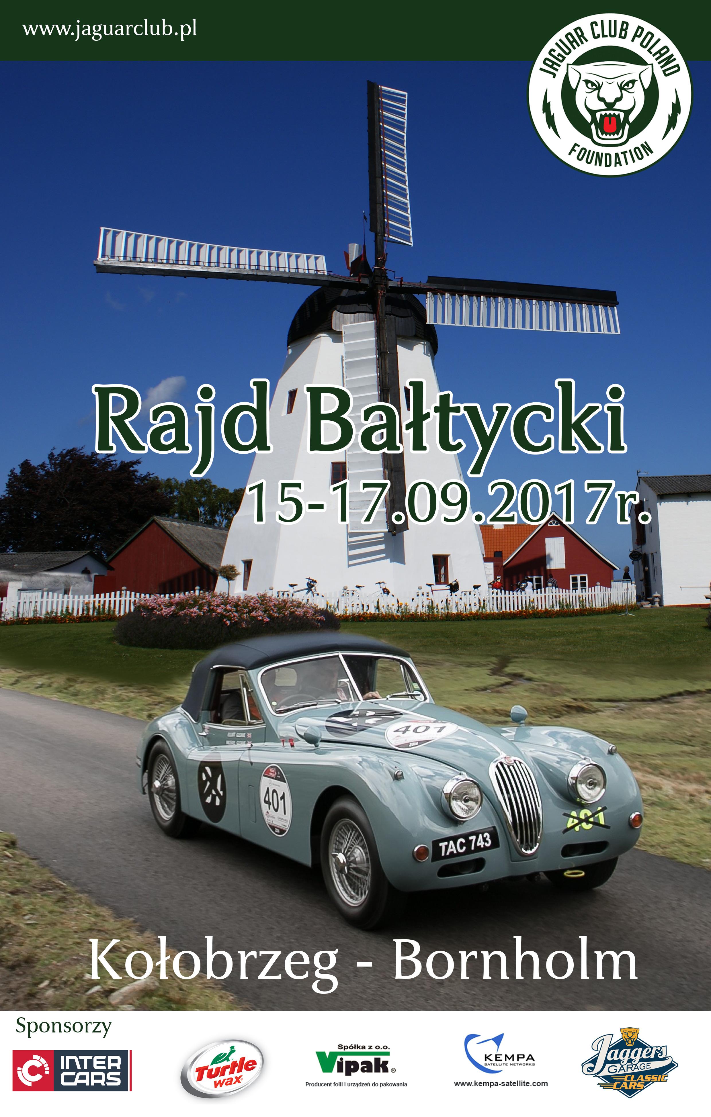 Plakat - Rajd Bałtycki